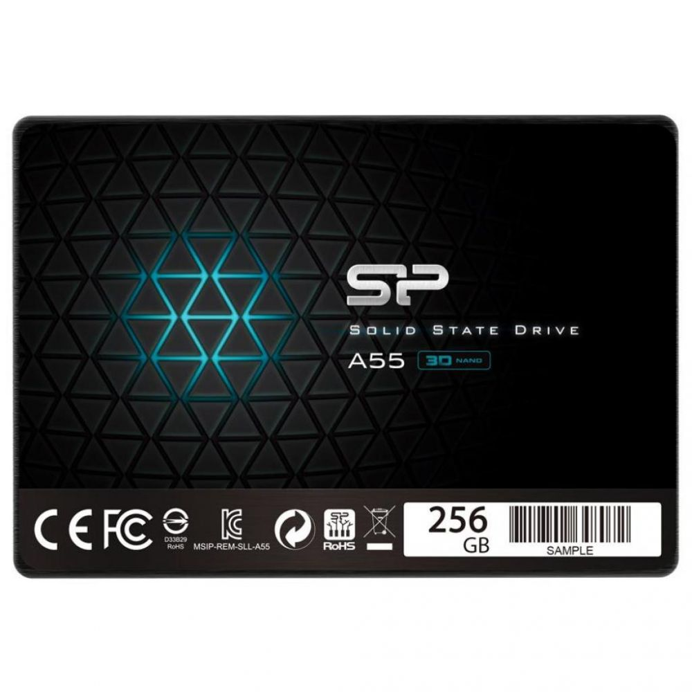 "SSD 2.5"" Silicon Power A55 256GB SATA TLC SP256GBSS3A55S25 в Україні big №3"