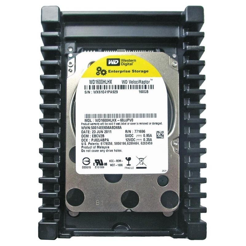 "Накопичувач HDD 2.5"" SATA 160GB WD VelociRaptor 10000rpm 32MB (WD1600HLHX) Refurbished в Україні"