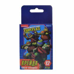 kreida kolorovyi kruhlyi 12 sht ninja turtles 5056137131204