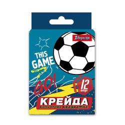 mel tsvetnoi 1veresnia kvadratnyi 12 sht. team football 4823091908576