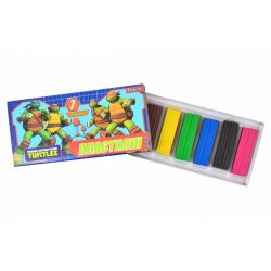 plastylin 7 kol. ninja turtles 5056137114894