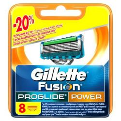 Сменные кассеты Gillette Fusion ProGlide Power 8 шт (7702018085606)  Украина фото