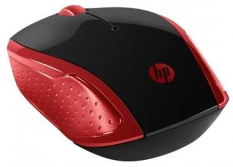 Миша HP Wireless Mouse 200 Red 2HU82AA в Україні big №1