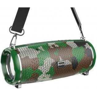 Портативная колонка Hoco HC2 Xpress Sport IPX5 Wireless Speaker Camouflage Green в Україні