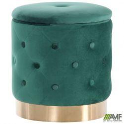 puf janett green golden chrom
