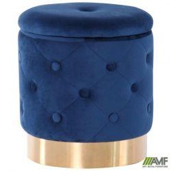 puf little janett blue golden chrom