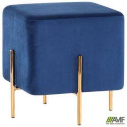 puf ritz blue golden chrom