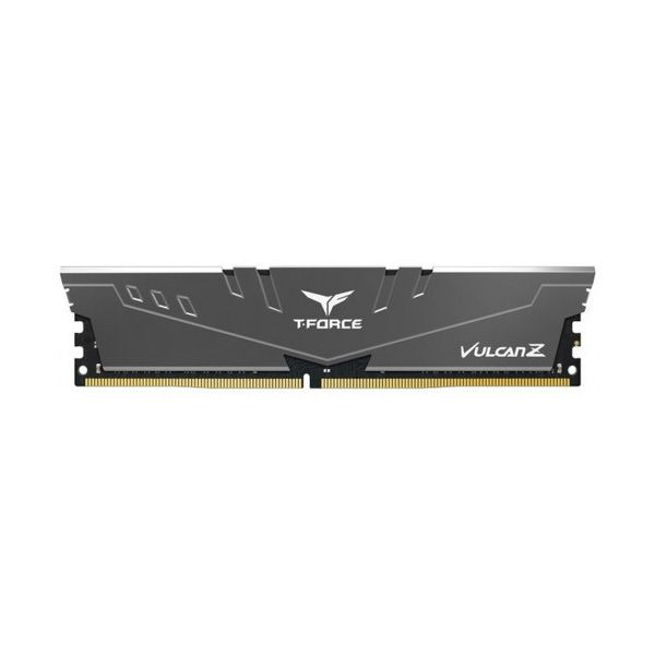 Модуль пам'яті DDR4 8GB 3600MHz Team Vulcan Z Grey C18-22-22-42 (TLZGD48G3600HC18J01) в Україні