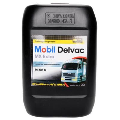 Моторное масло MOBIL DELVAC MX EXTRA 10W40 20л (MB 10W40 D MX E 20L) в Україні