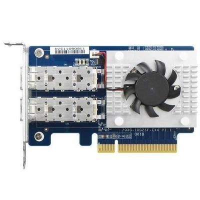 Сетевая карта 2x10Gb SFP+ 8xPCIe Gen3 Mellanox ConnectX-4 Lx QNap (QXG-10G2SF-CX4) в Україні