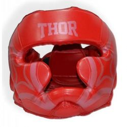 thor 727 leather red xl