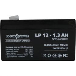 akkumuliator dlia ybp logicpower 12v 1.3 ach 2674 12 v dlia dbzh z mo