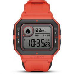 amazfit neo smart watch red