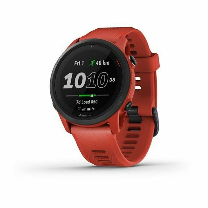 Смарт-часы Garmin Forerunner 745 Magma Red (010-02445-12) в Україні